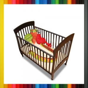 Baby & Toddler Wooden Cot